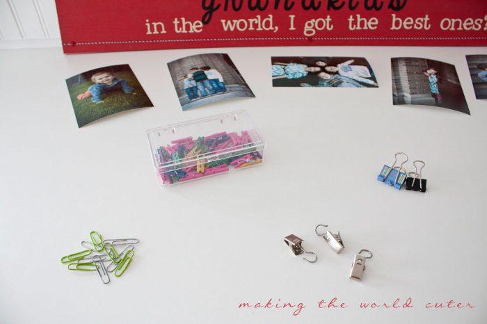 Last Minute Gift Idea | Grandparent brag board, easy if you have a digital cutter!