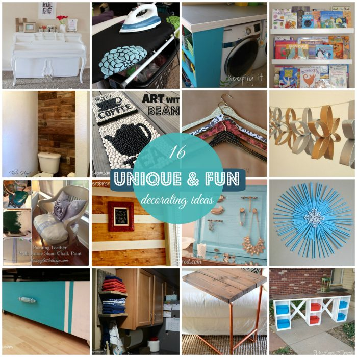 Block Party: Unique And Fun Home Decor Features - Rae Gun Ramblings