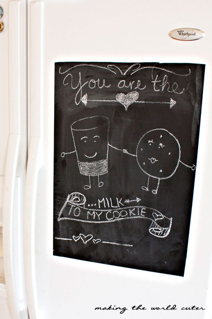 Making the World Cuter Valentine Home Decor, Chalkboard art