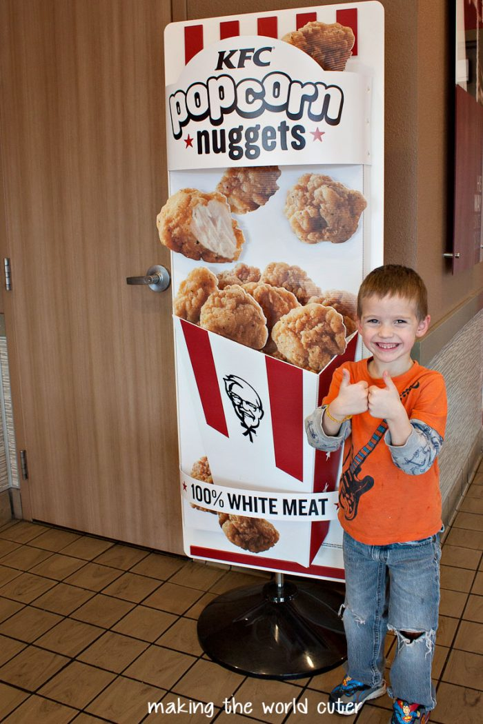 Popcorn Chicken Kids Style : When have you or a friend needed a nugget-vention? Tell me in the ...
