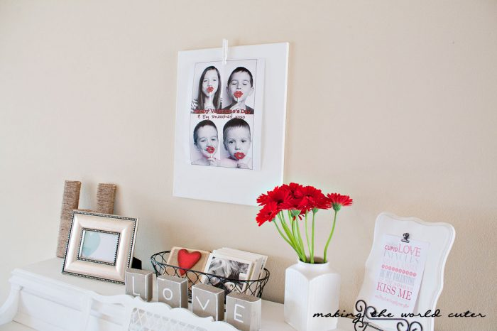 Making the World Cuter Valentine Home Decor