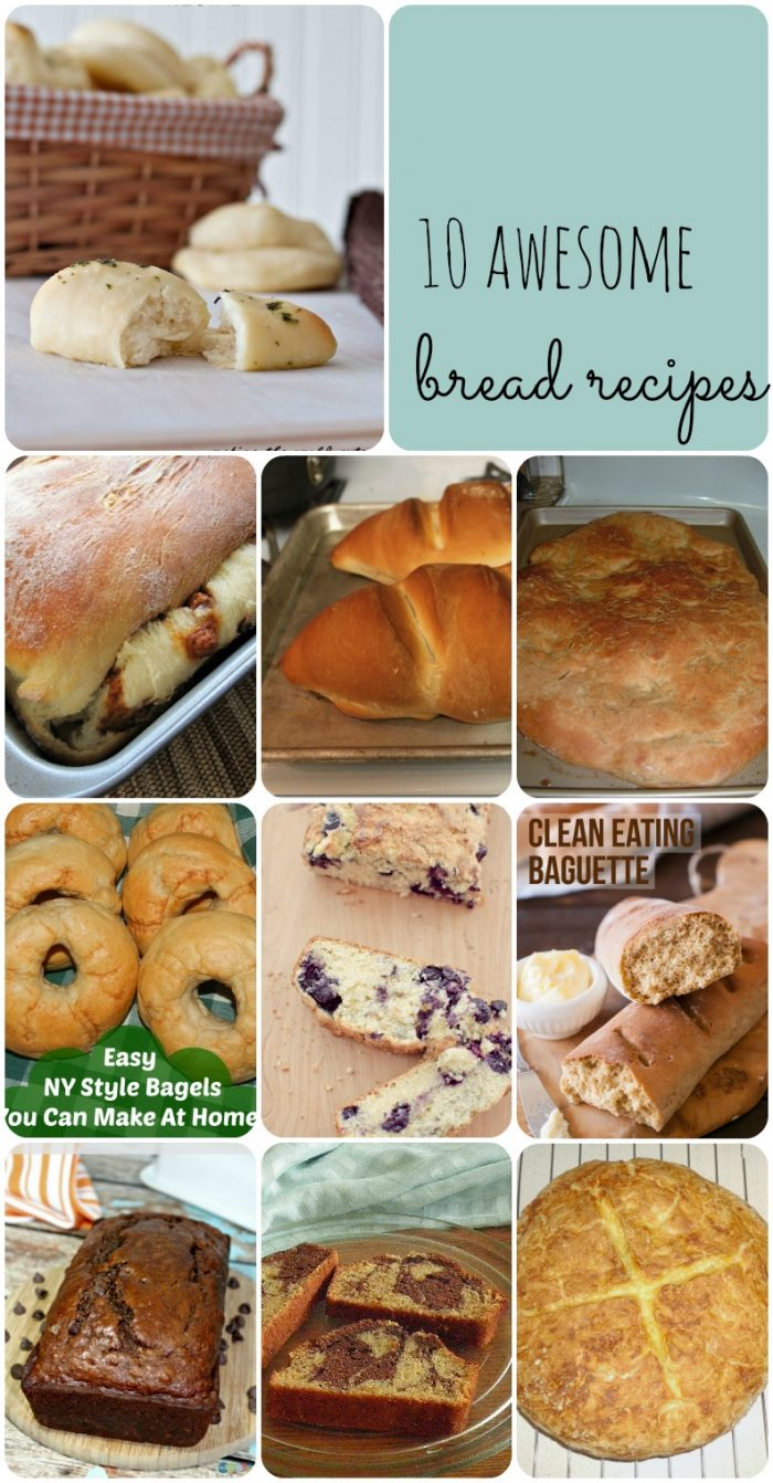 10 Awesome Bread Recipes to try