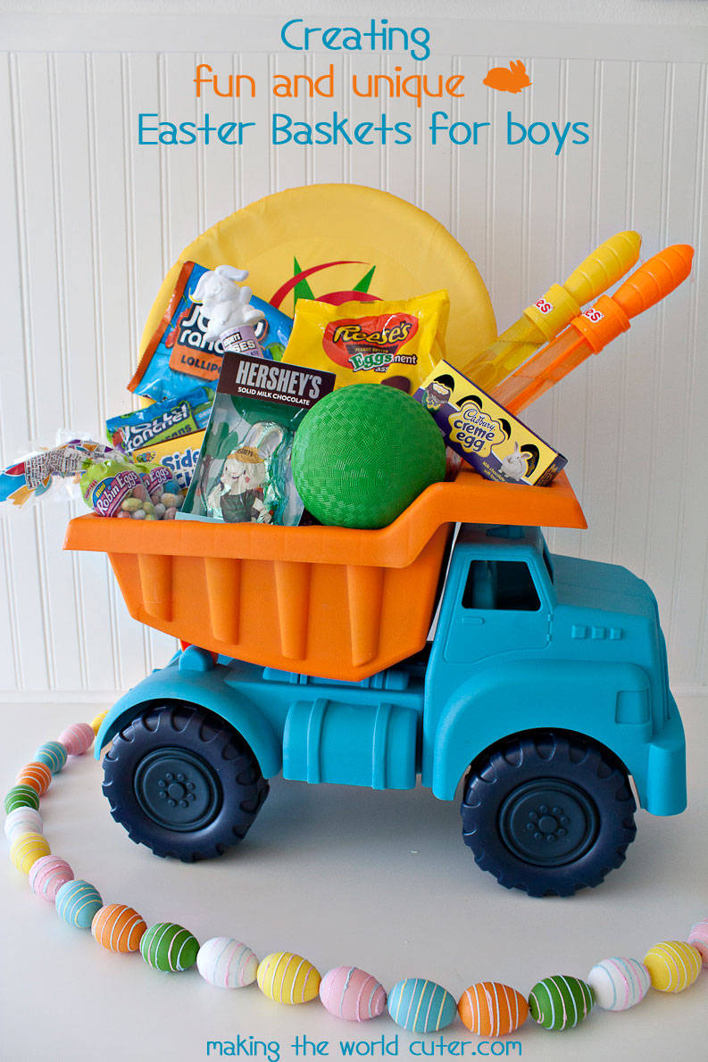 Easter baskets for boys negle Image collections
