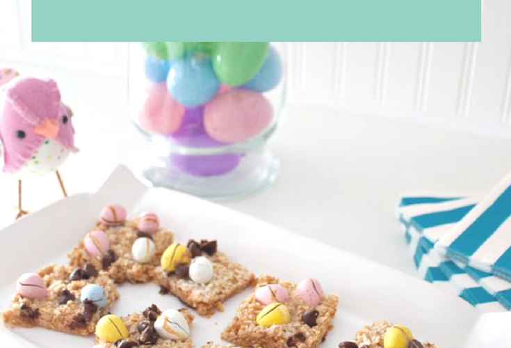 Magic Cadbury Mini Eggs Cookie Bars