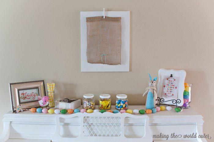 Easter Mantel Decorations – Easter Mantel Decorations