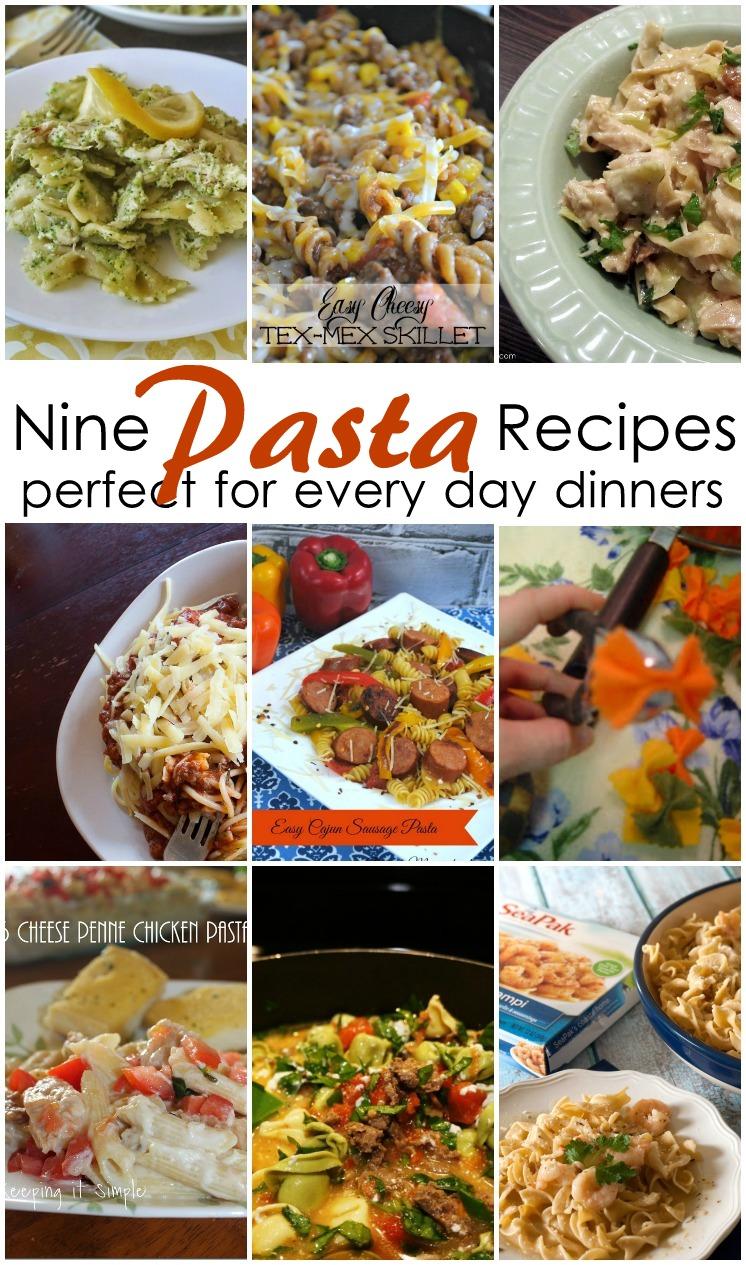 9 Pasta Recipes
