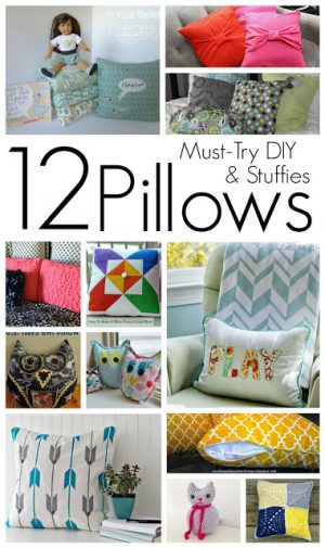 12 Pillows and Stuffies to DIY