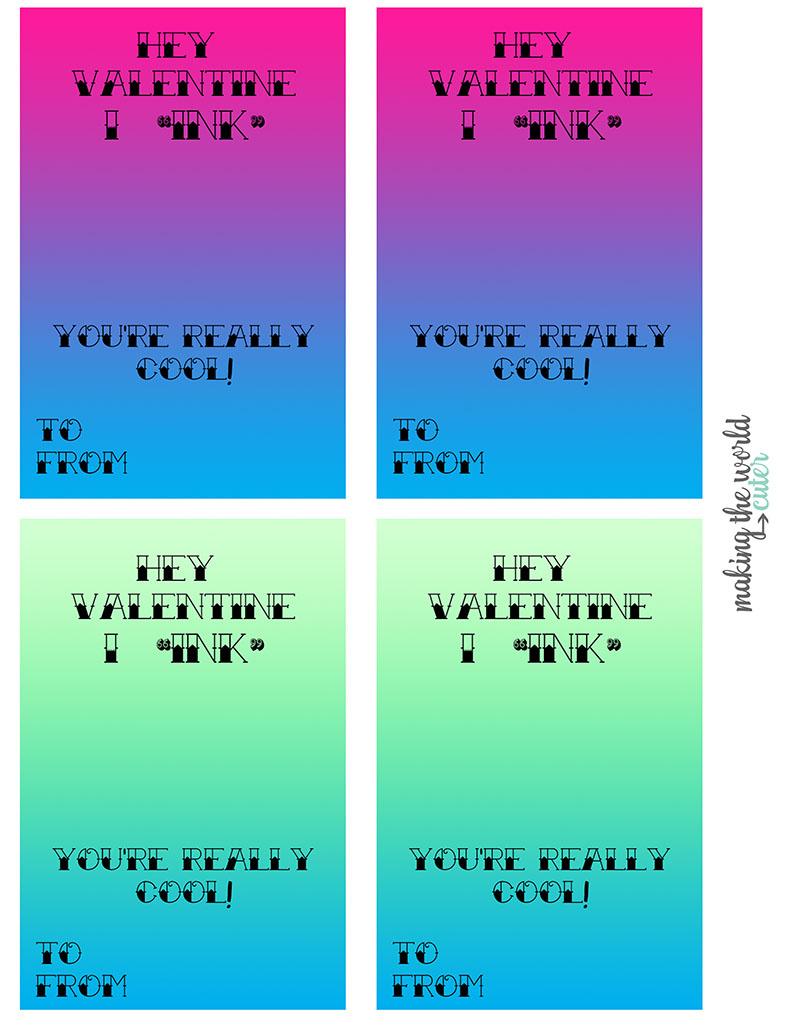 Tattoo Valentine Cards