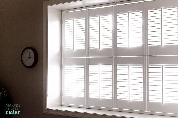 Wooden plantation shutters from blinds.com