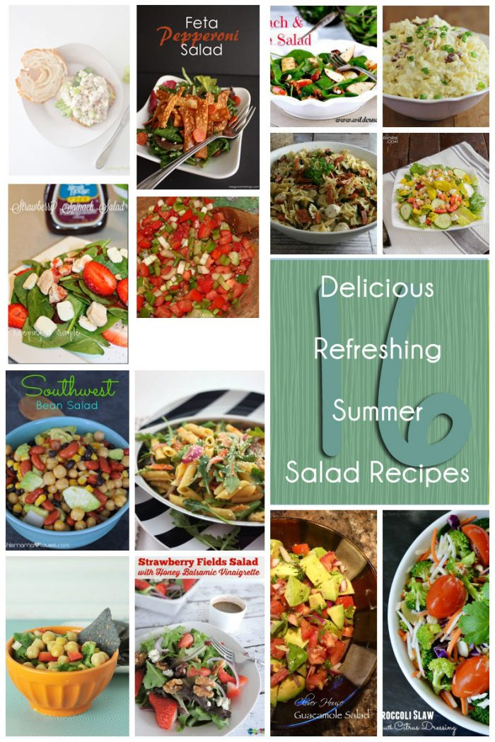 16 Delicious and Refreshing Summer Salad Recipes