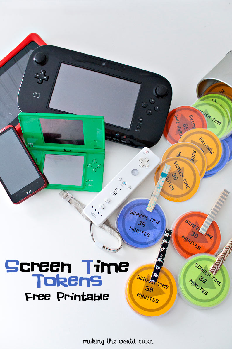 Screen Time Tokens Reward System