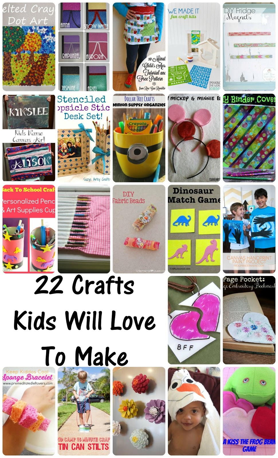 22 Crafts for Kids