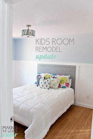 Making the World Cuter Remodel Update. Showing the progress of 2 kids bedrooms that can grow with them and the hall that connects them. So many good ideas to make these rooms look like a million bucks!