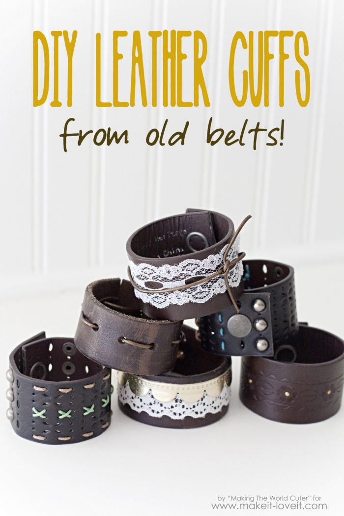 http://makingtheworldcuter.com/wp-content/uploads/2015/09/DIY-Leather-Cuffs-from-old-belts-1-700x1050.jpg
