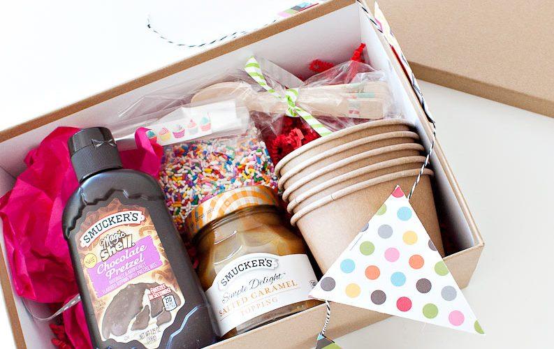Ice Cream Sundae Gift