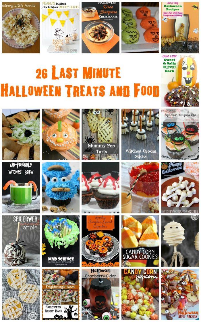 Fun and Spooky Halloween Treats