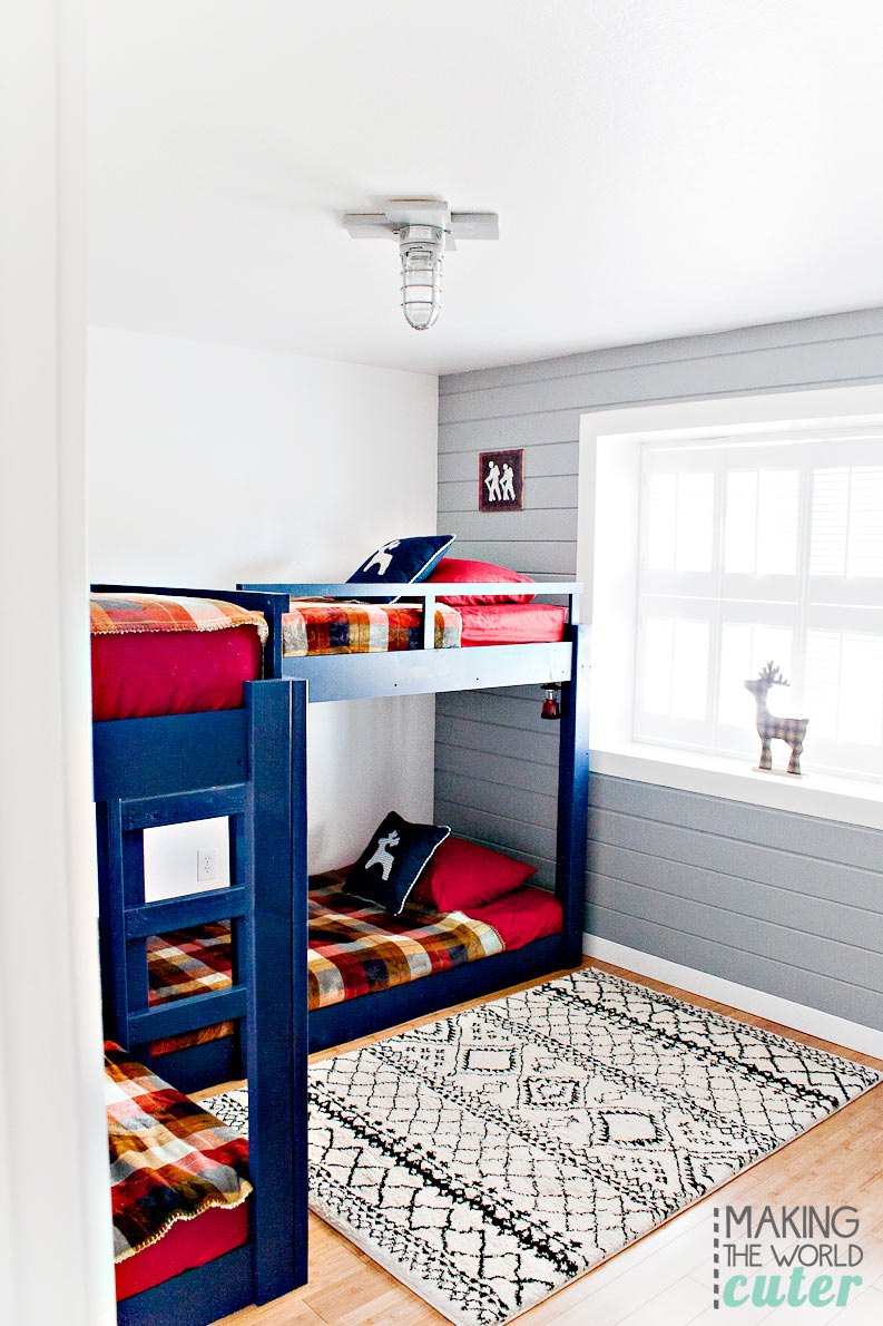 Bunk Room Reveal