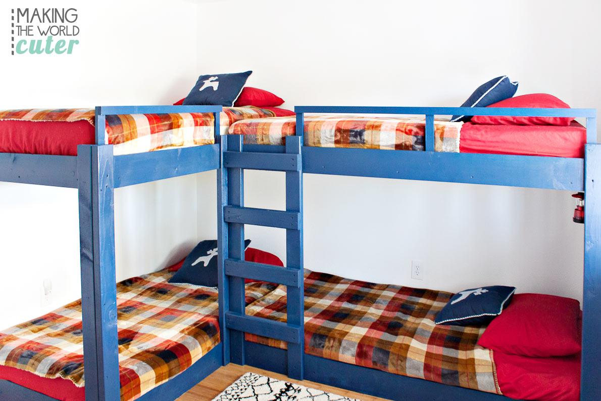 DIY-Bunk-Beds-for-Four