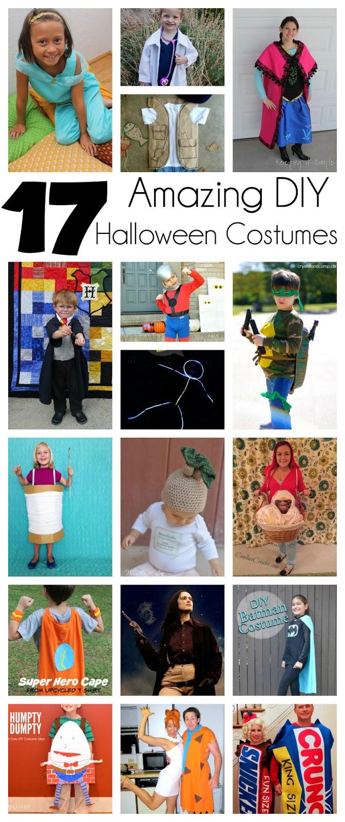 17 DIY Halloween Costumes