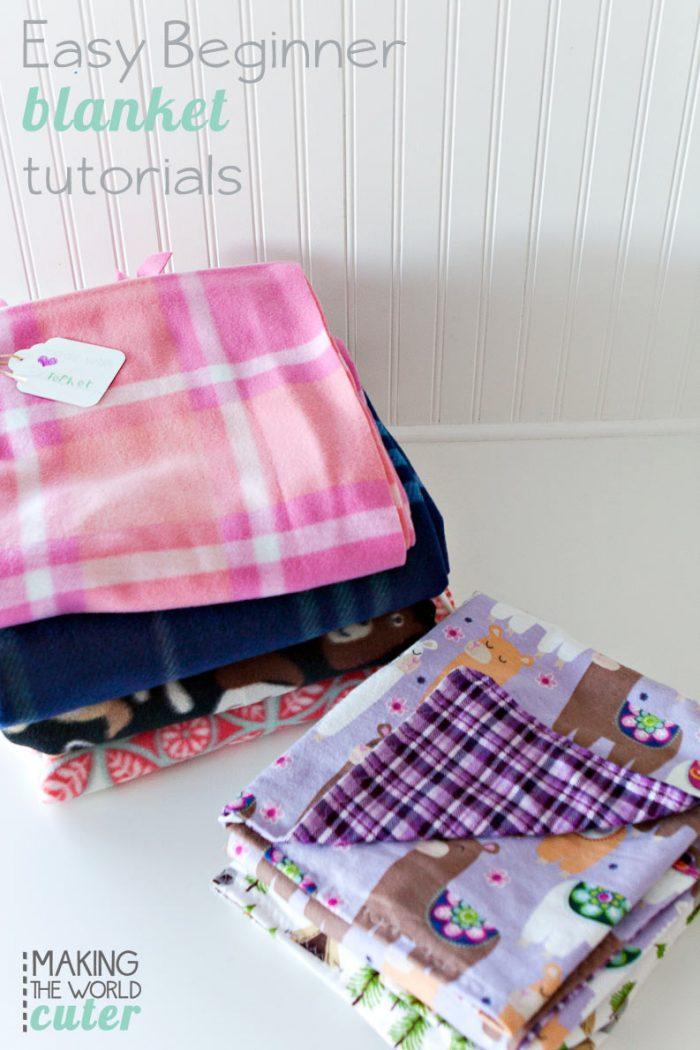 Easy Beginner Blankets