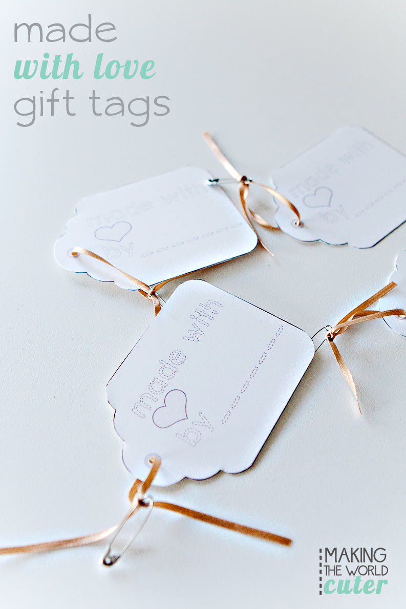 Made With Love Gift Tags