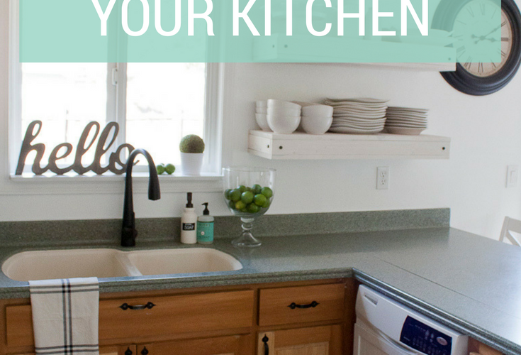 How to do a Mini Makeover That Will Help You Love Your Kitchen