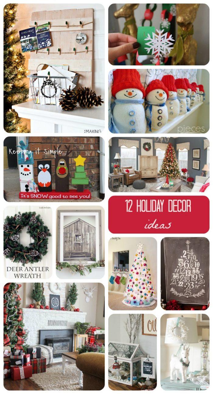 12 Holiday Decor Ideas