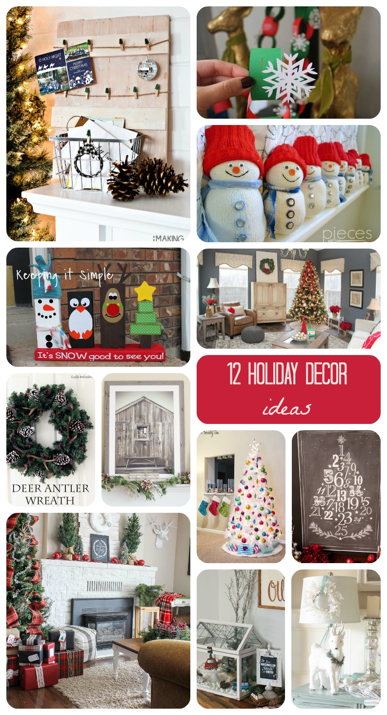 12 Holiday Decor Ideas