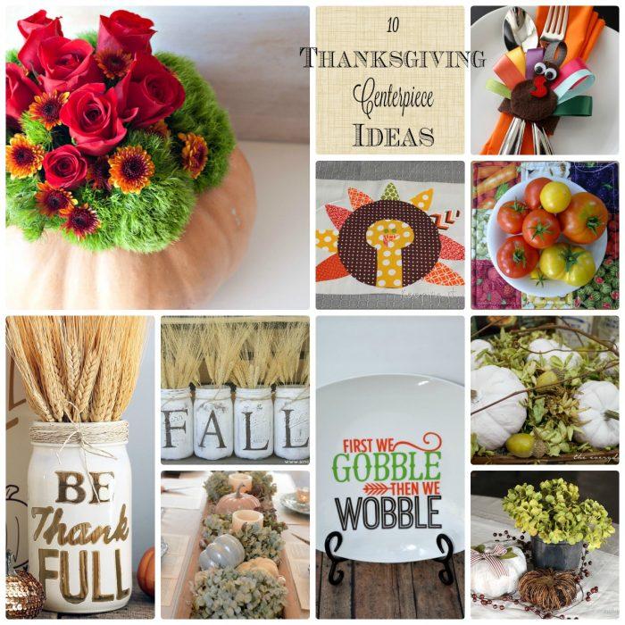 10 Thanksgiving Centerpiece Ideas