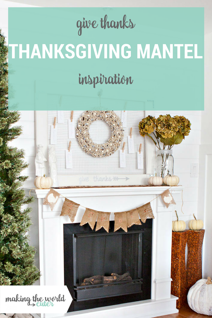 Thanksgiving Mantel Decorations