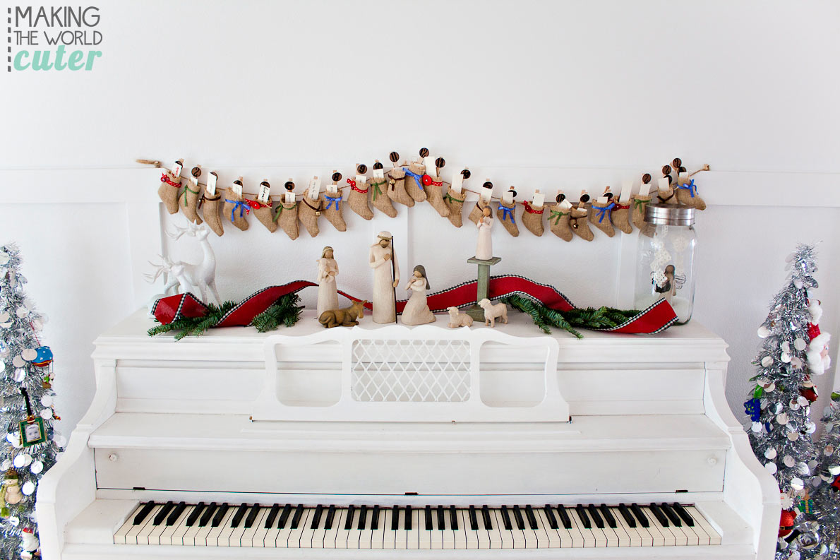Christmas Piano.Christmas Piano Decor