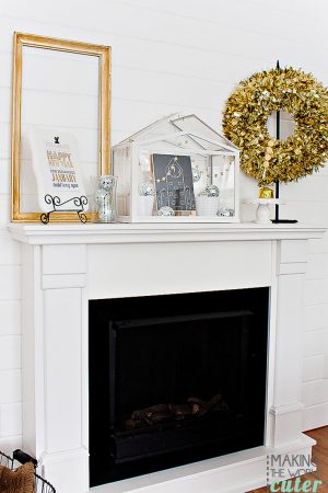 New Years Eve Decorations Inspiration and Mantel