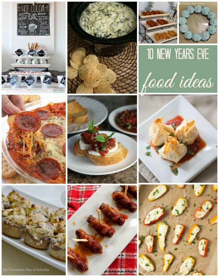 10 New Years Eve Food Ideas