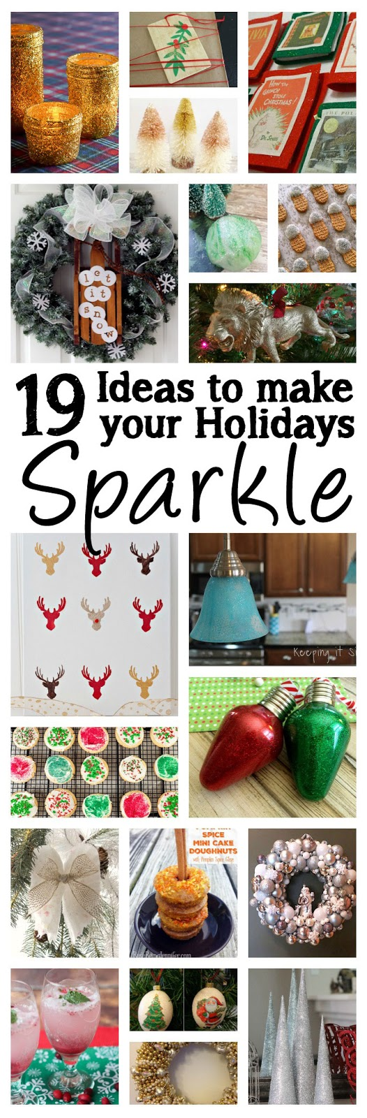 19 Sparkle Holiday Crafts