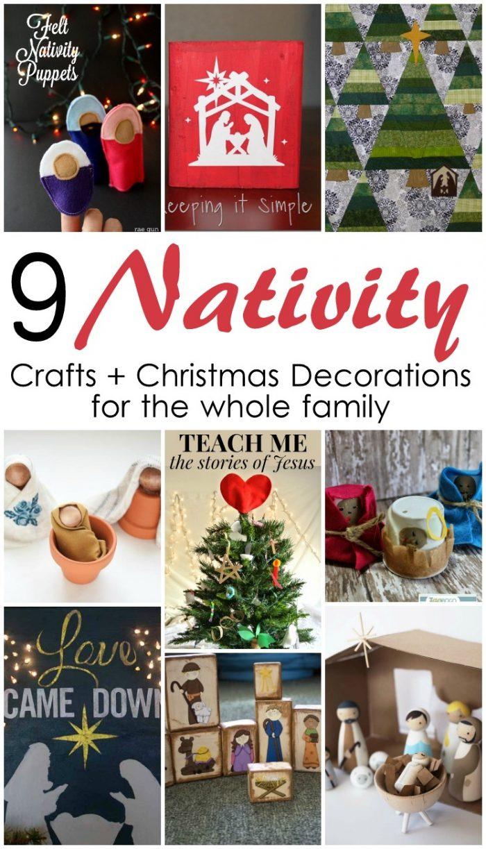 9 Nativity Crafts