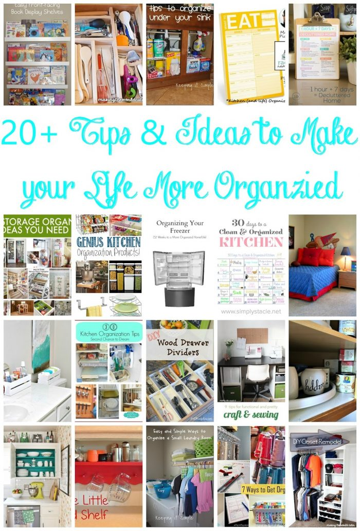 20 Organizing Ideas