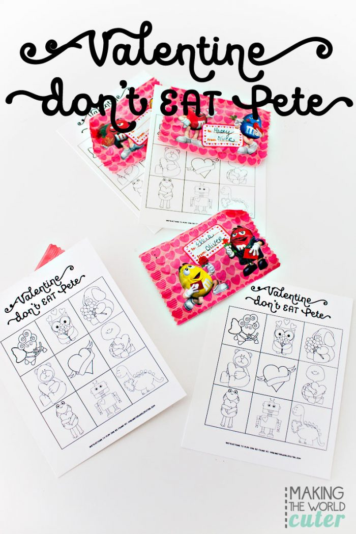 Free Valentine Printables Don't Eat Pete