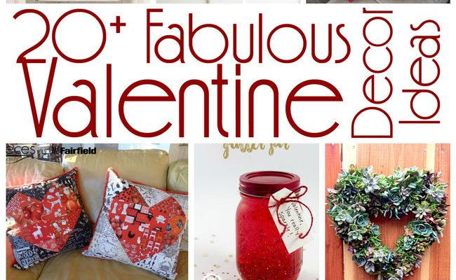 20+ Valentine Decor Ideas