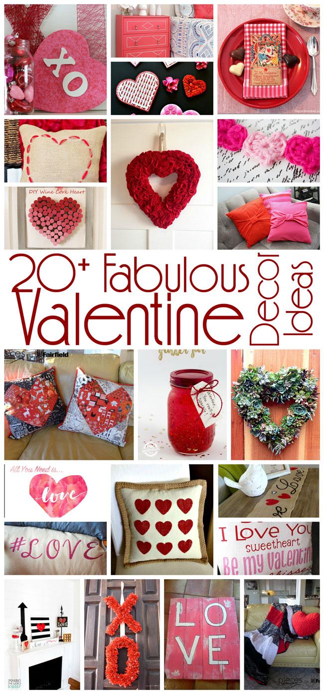 20+ Valentine Decor Ideas