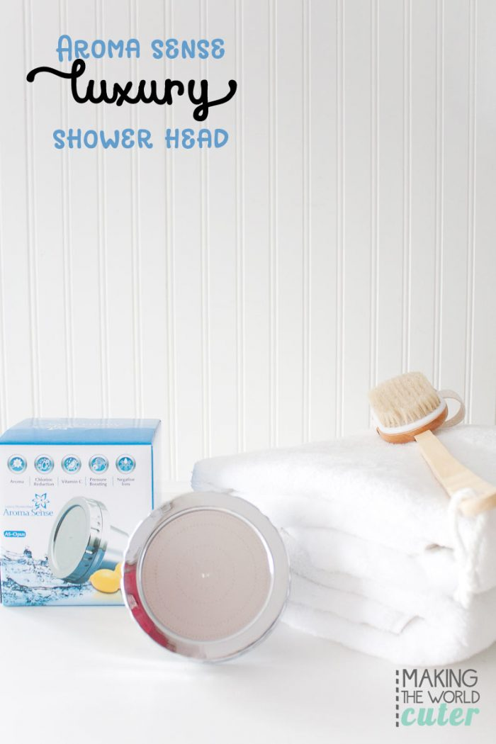 Aroma Sense Shower Head Giveaway