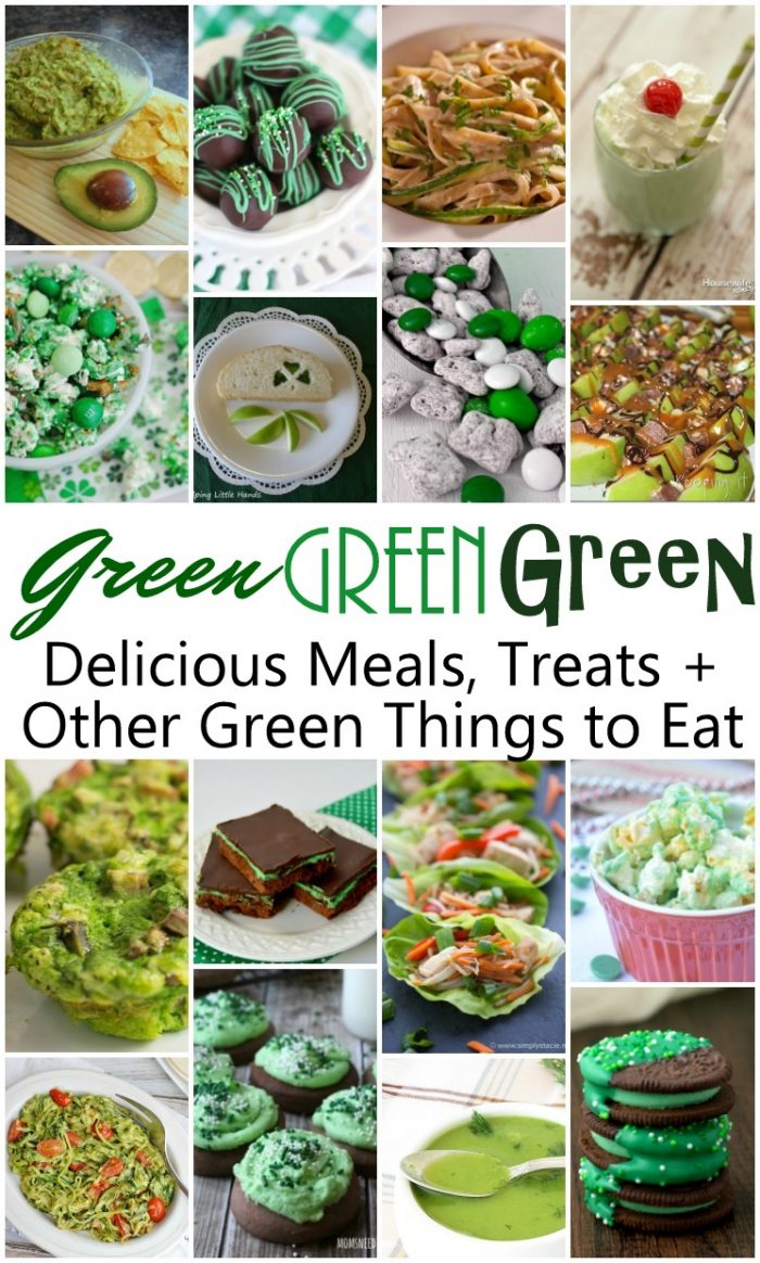 Green things to Eat