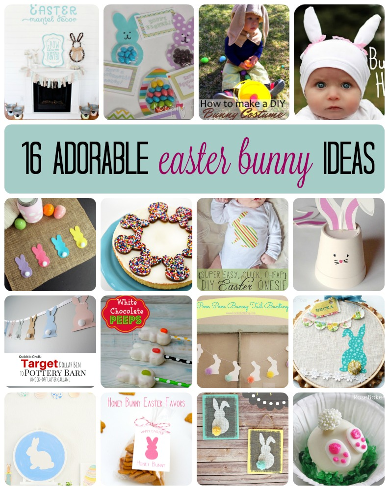 16 Adorable Easter Bunny Ideas