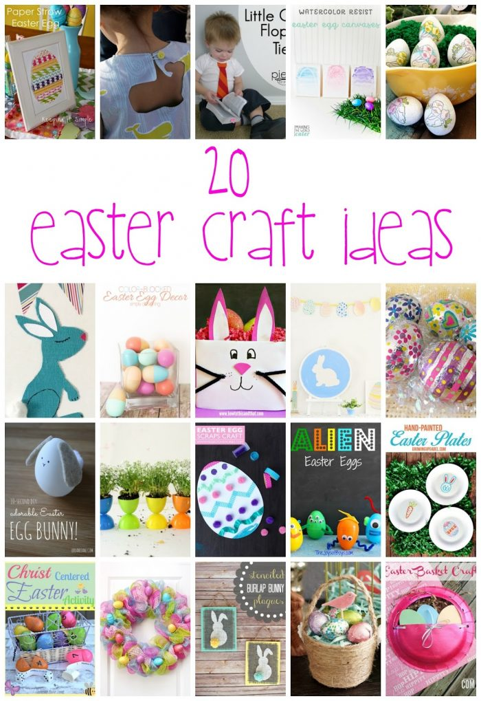 20 Easter Craft Ideas