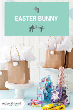 DIY Easter Bunny Gift Bags