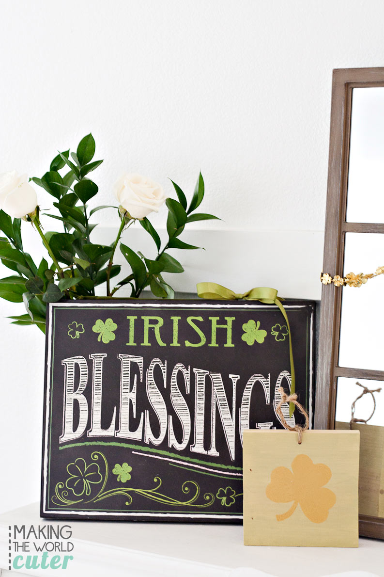 Irish-Blessings-St-Patrick's-Mantel-Decor