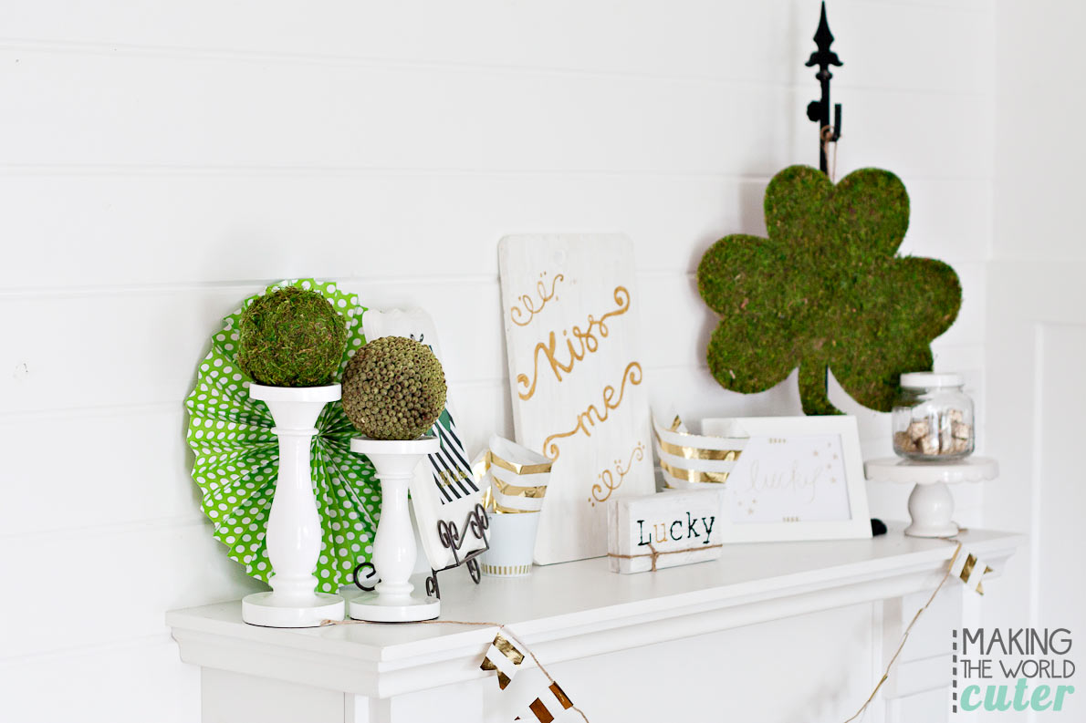 St-Patrick's-Mantel-Decor
