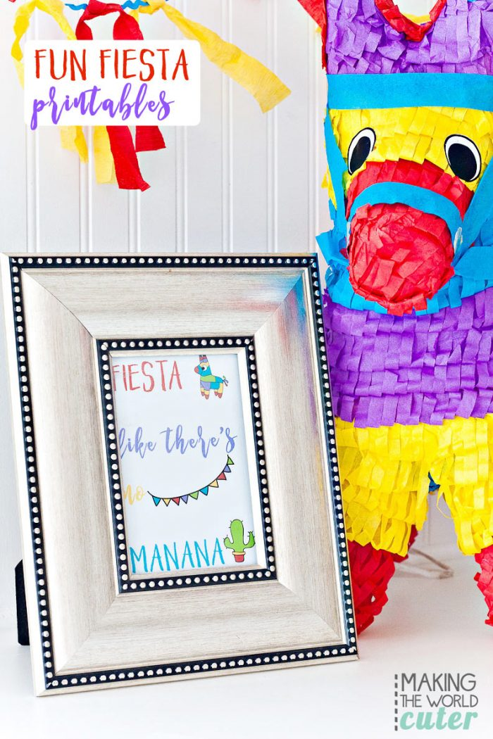 Fiesta Party Printables
