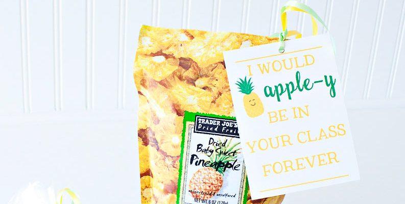 Teacher Appreciation Printables Pineapple-y Goodness