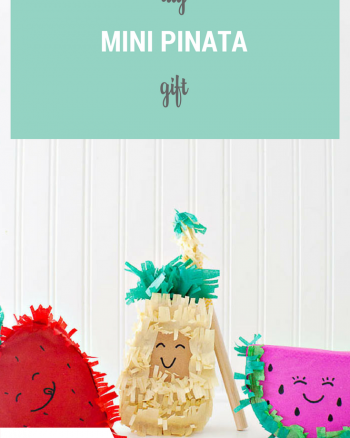 DIY Mini Pinata gifts