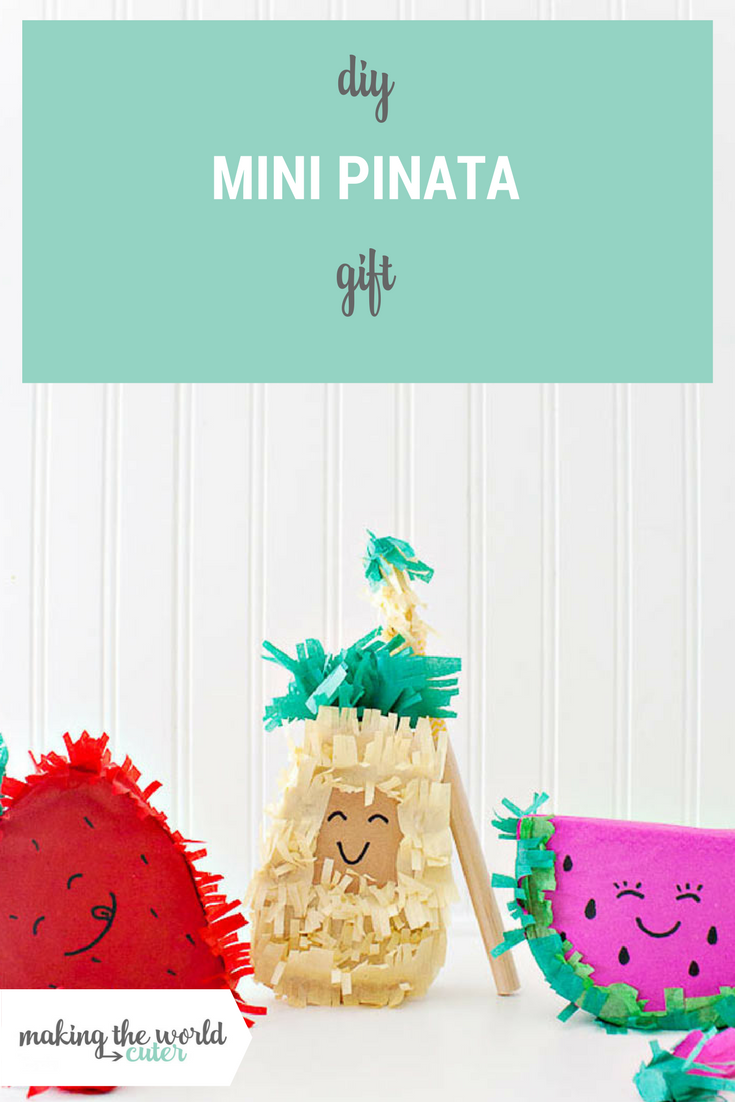 DIY Mini Pinata gifts